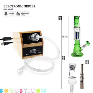 Bongby - Digital Nail Kit Wood Ii + Bong - Custom Made Aromatheropy Clear Digital Digital Nail Dnail Free Shipping United States 2018