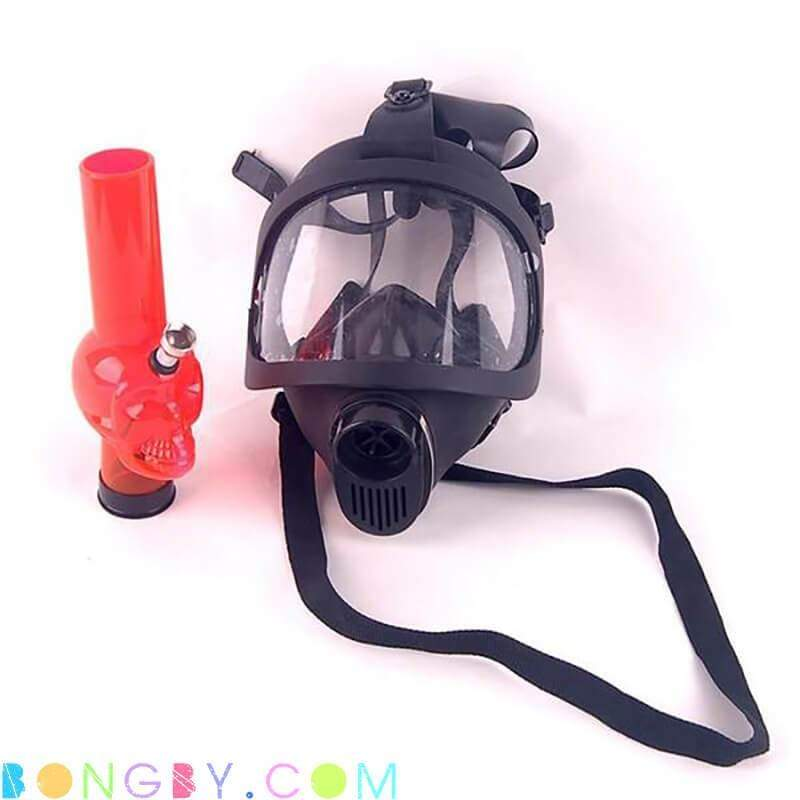 Bongby - Diver Mask - Custom Made Black Bong Bongs Clear Dab Free Shipping United States 2018 Bongby.com