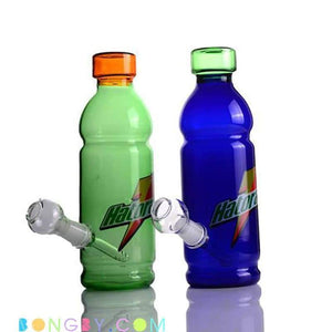 Bongby - Sports Bottle Haterade - Custom Made Blue Bong Bongs Dab Dabs Free Shipping United States 2018 Bongby.com