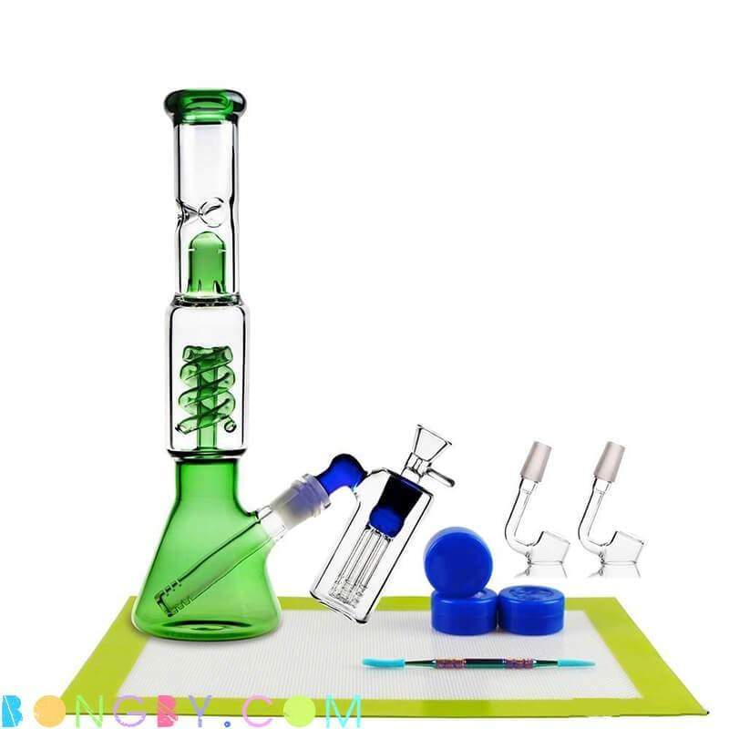 Bongby - Zelda + Dab Container - Custom Made Ash Catcher Bong Bongs Clear Dabs Free Shipping United States 2018 Bongby.com
