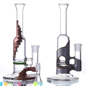 Bongby - Zoey - Custom Made Bong Bongs Clear Dab Dabs Free Shipping United States 2018 Bongby.com