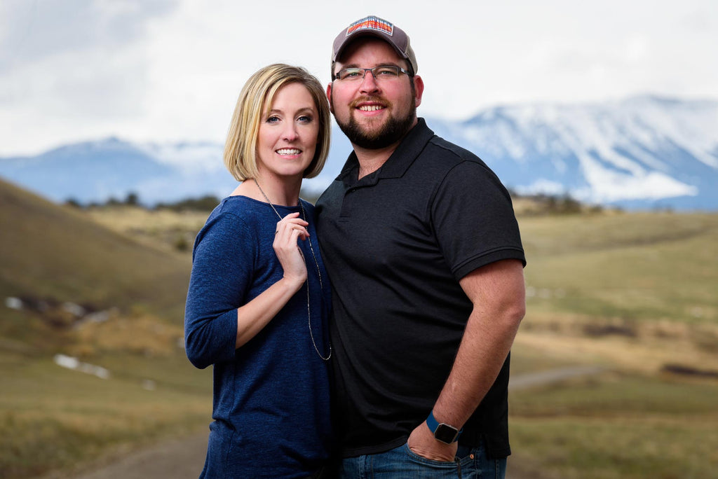 John and Elisha Mack in the Rocky Mountain Front