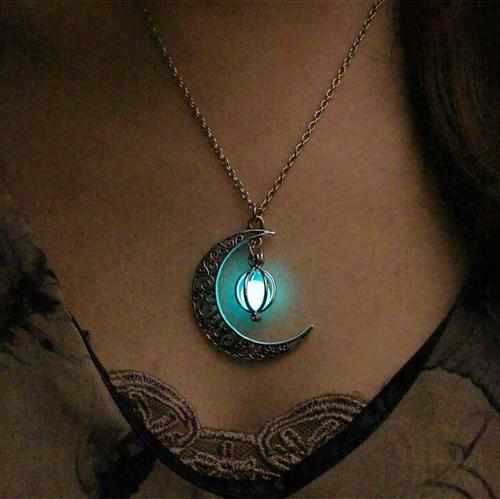 Mystic Moonglow Necklace - 4 Colors - Gypsy and the Wolf