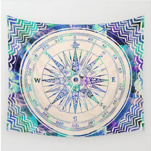 Wall Hanging Sandy Beach Picnic Throw - Gypsy and the Wolf