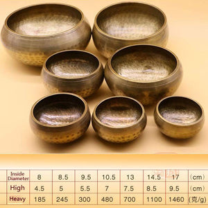 Traditional Tibetan Singing Bowls - Gypsy and the Wolf