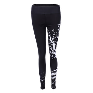 Tights Printed Yoga Pants - Gypsy and the Wolf