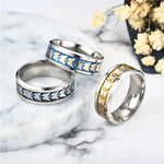 2019 1PC silver Ring for Women  Wedding Allergy Free Bohemian Vintage Butterfly Totem ring Men - Gypsy and the Wolf
