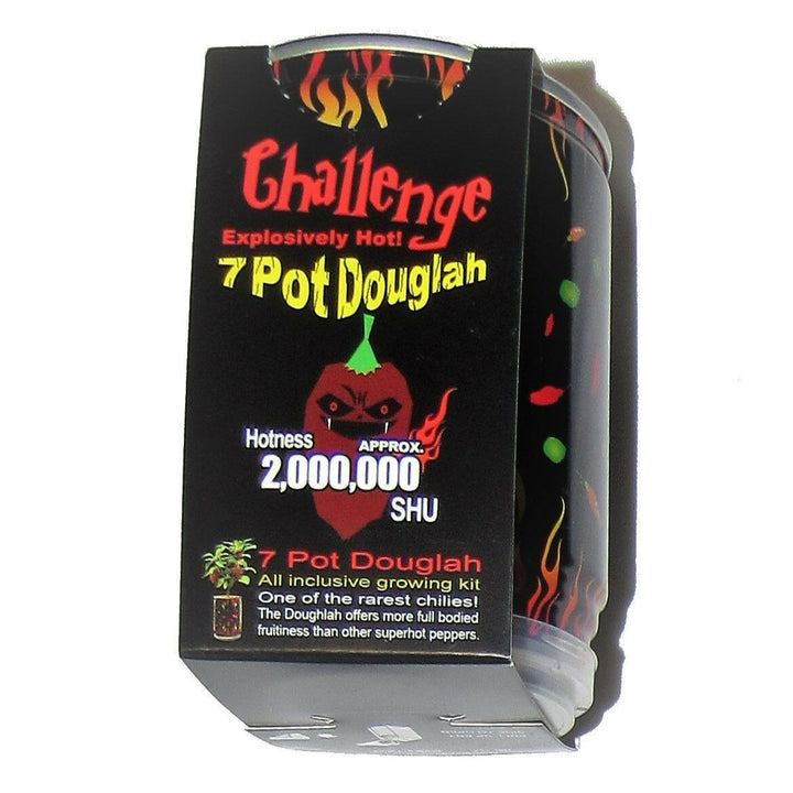 Trinidad 7 Pot Douglah Pepper Seed Grow Kit