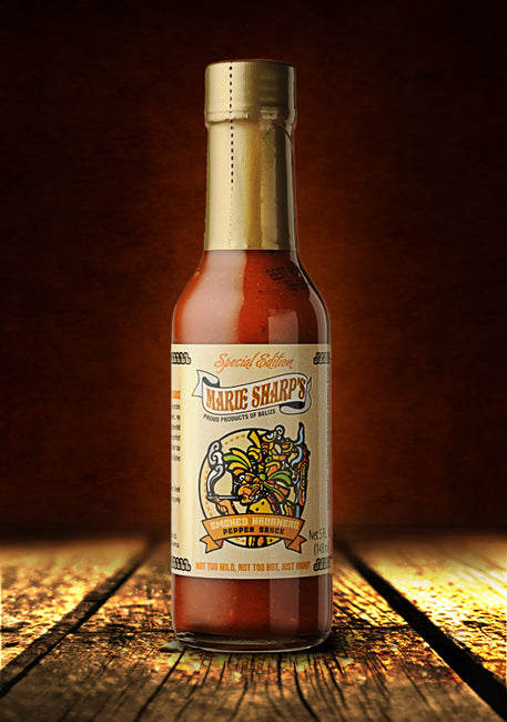 Marie Sharp's Smoked Habanero Hot Sauce-5oz
