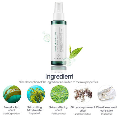 [KLAVUU] Green Pearlsation Tea Tree Care Body Spray by beautique-online
