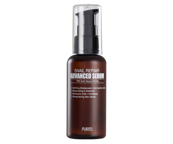 [PURITO] Snail Repair Advanced Serum, 60ml - beautique-online