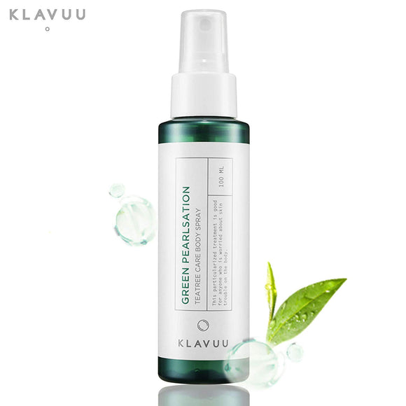[KLAVUU] Green Pearlsation Tea Tree Care Body Spray, 100ml - beautique-online