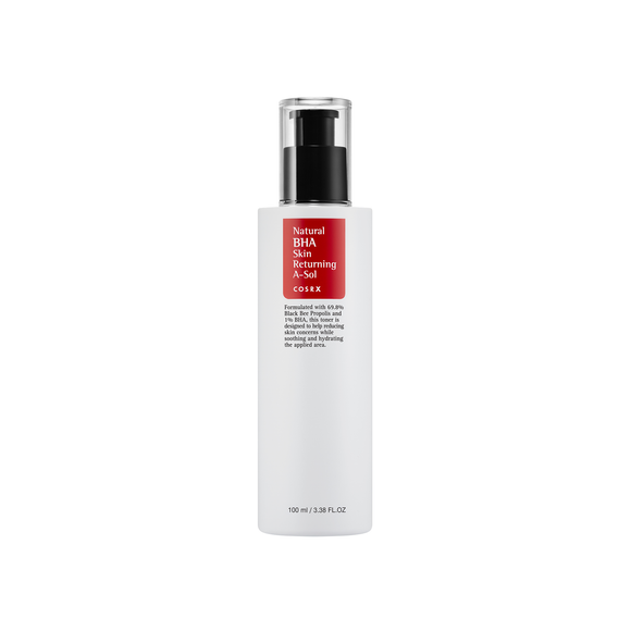 [COSRX] Natural BHA Skin Returning A-Sol, 100ml - beautique-online