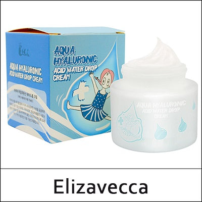 [Elizavecca] Aqua Hyaluronic Acid Water Drop Cream, 50ml - beautique-online