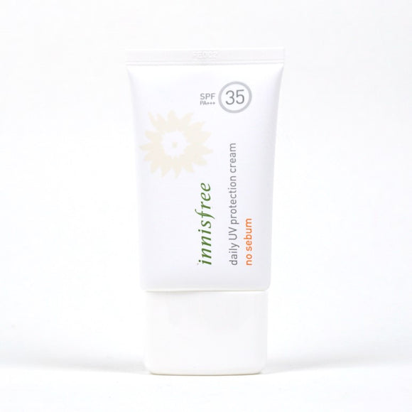[Innisfree] Daily UV Protection Cream No Sebum SPF35 PA+++, 50ml - beautique-online