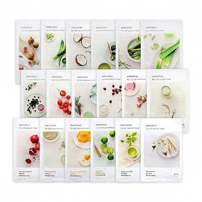 [Innisfree] My Real Squeeze Mask Sheets, 20 ml - beautique-online