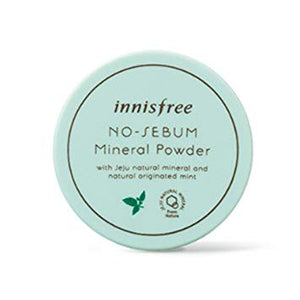 [Innisfree] No Sebum Mineral Powder, 5g - beautique-online