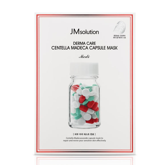 [JMsolution] Derma Care Centella Madeca Capsule Mask Medi, 1 Sheet Mask - beautique-online