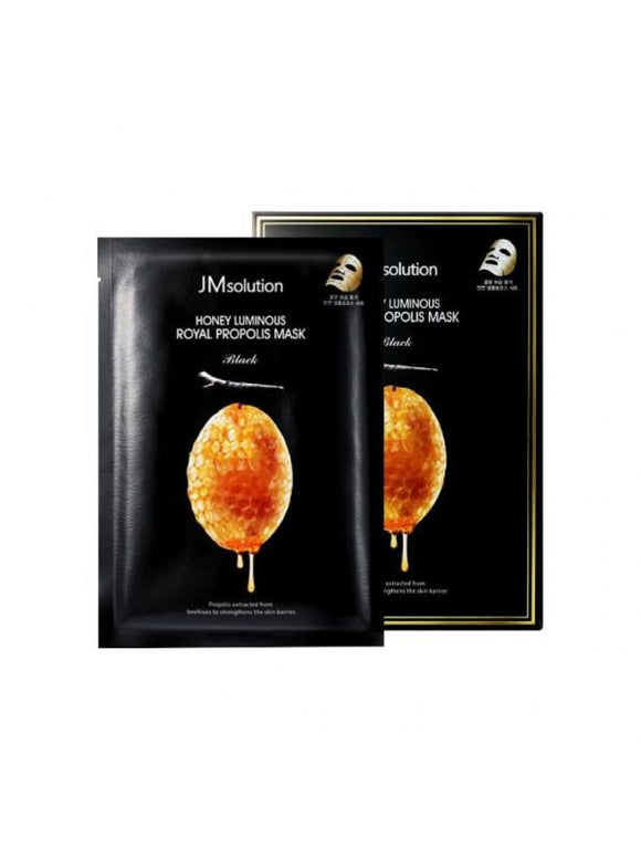 [JMsolution] Honey Luminous Royal Propolis Mask,1 Sheet Mask - beautique-online