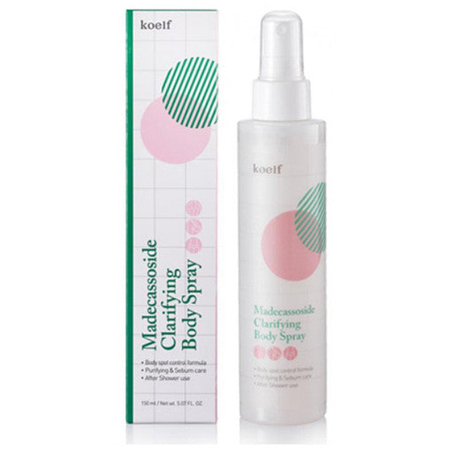 [KOELF]-Madecassoside-Clarifying-Body-Spray-by-beautique-online