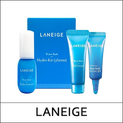 [LANEIGE] Water Bank Hydro Kit 3 Items - beautique-online