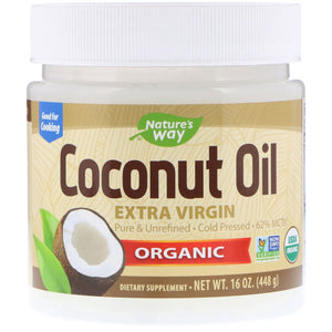 [NATURE'S WAY] Coconut Oil, 448g - beautique-online