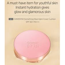 [SOME BY MI] Something-Maxi-Glam-Cover-Cushion-SPF50+ PA+++ 15g (#21 Light Beige) by-beautique-online
