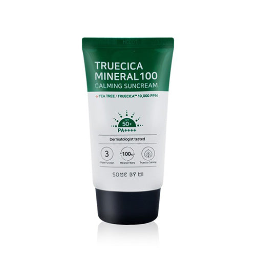 [SOME BY MI] Truecica Mineral 100 Calming Sunscreen SPF50+ PA++++, 50ml - beautique-online