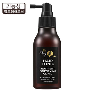 [TOSOWOONG] Nutrient Fortifying Clinic Hair-Loss Care Hair Tonic, 120ml - beautique-online