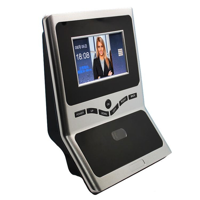 Face Facial TCP IP Attendance Access Control Biometric Time Clock Recorder  Employee Digital Electronic Standalone Reader 5YAF6
