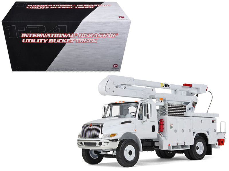 International Durastar Utility Bucket Truck 1:34 Diecast Model - First Gear - 10-3901