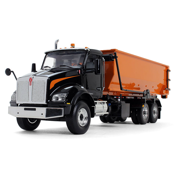 Kenworth T880 with Tub-Style Roll-Off Container 1:34 Scale Diecast Model - First Gear 10-4144