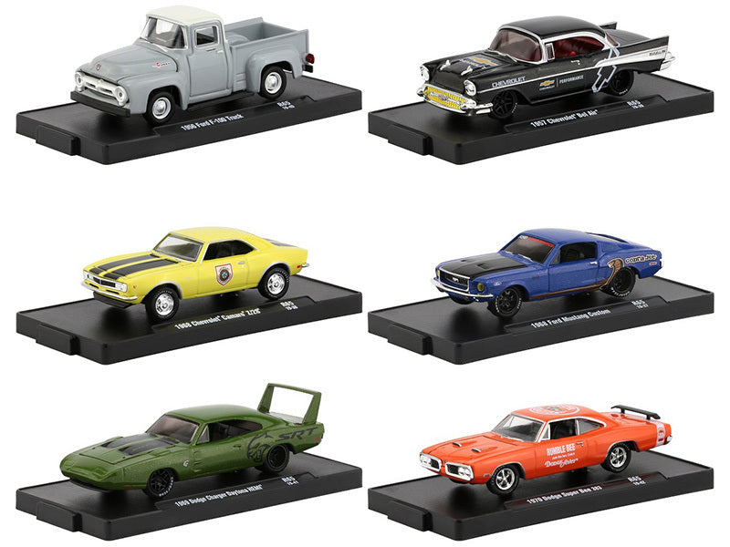 """Drivers"" Release 65, Set of 6 Models in Blister Packs 1:64 Diecast Cars - M2 Machines - 11228-65"