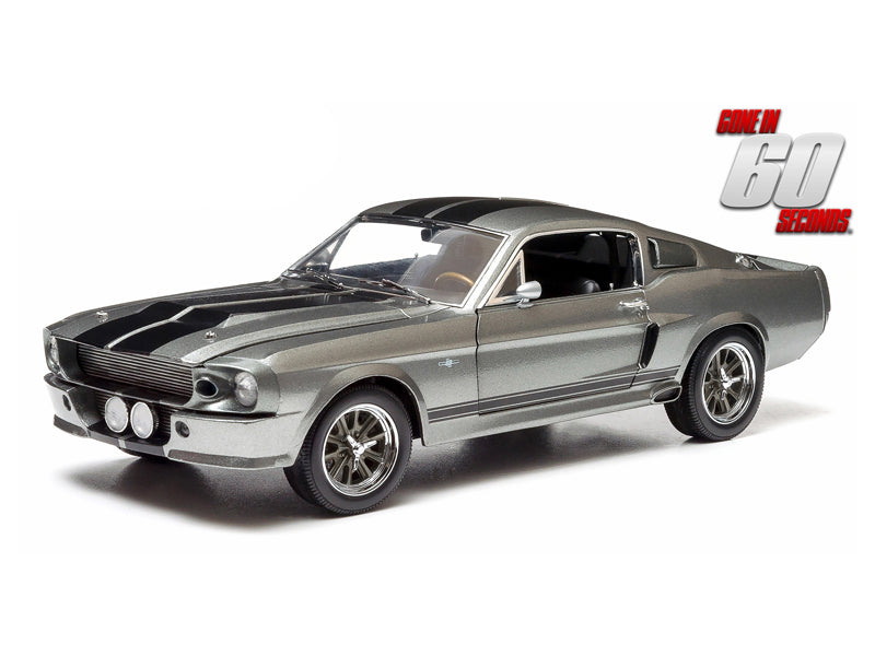 Greenlight 1967 Ford Mustang Shelby GT500 Eleanor Gone in 60 Seconds 1:18 Diecast - Greenlight - 12909