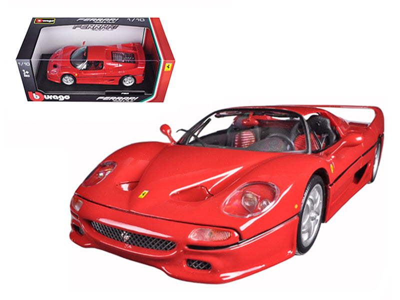 Ferrari F50 Red 1/18 Diecast Model Car - Bburago - 16004RD