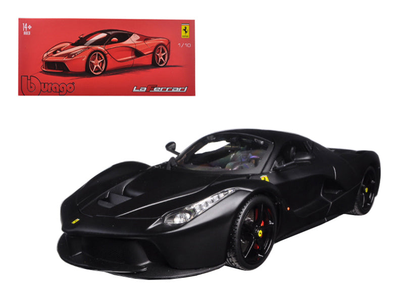 Ferrari LaFerrari F70 Matte Black Signature Series 1:18 Diecast Model Car - Bburago - 16901BK
