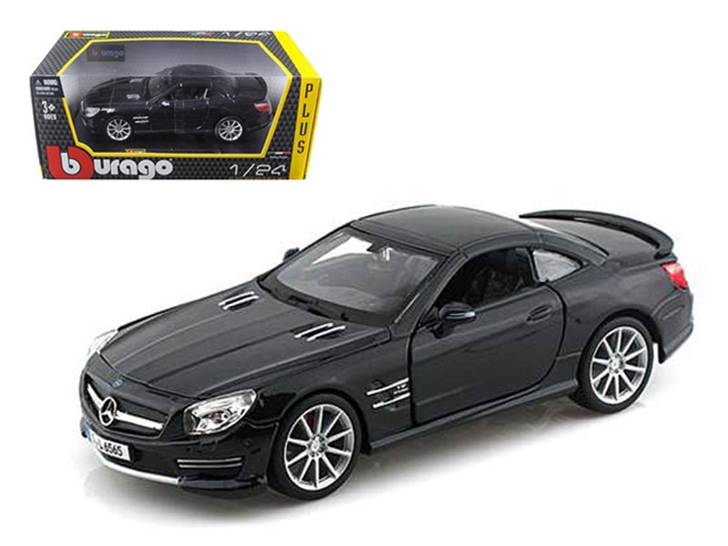 Mercedes SL 65 AMG Coupe Black 1:24 Diecast Model - Bburago - 21066BK