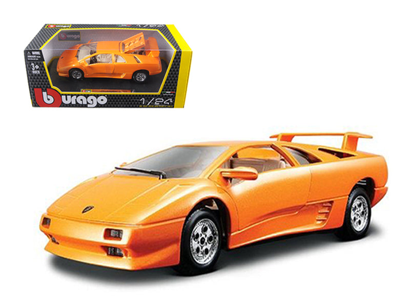 Lamborghini Diablo Orange 1/24 Diecast Car Model - Bburago - 22086OR