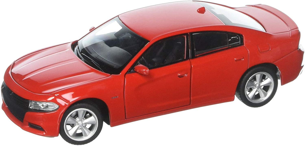 2016 Dodge Charger R/T Red 1/24 - 1/27 Diecast Model Car - Welly - 24079RD