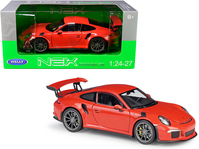 Porsche 911 GT3 RS Orange 1/24-1/27 Diecast Model Car - Welly - 24080OR