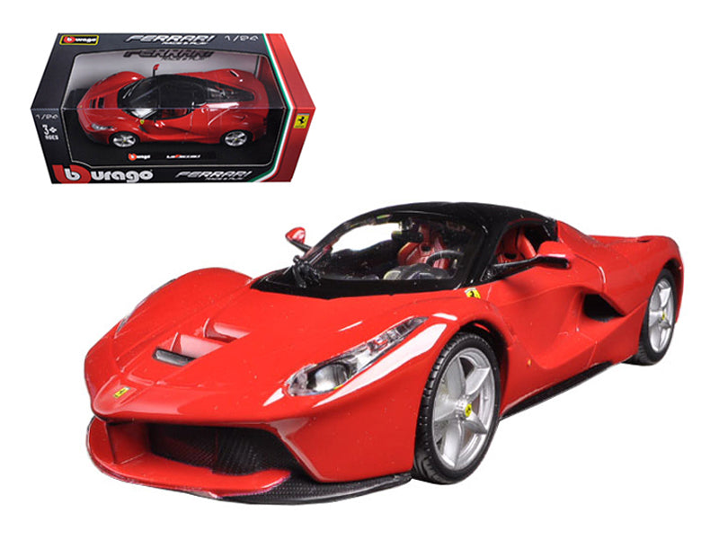 Ferrari Laferrari F70 Red 1:24 Diecast Model Car - Bburago - 26001RD