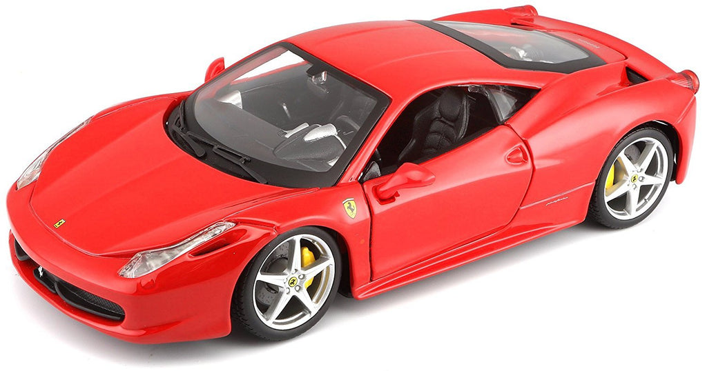 Ferrari 458 Italia Red 1:24 Scale Diecast Model - Bburago - 26003RD