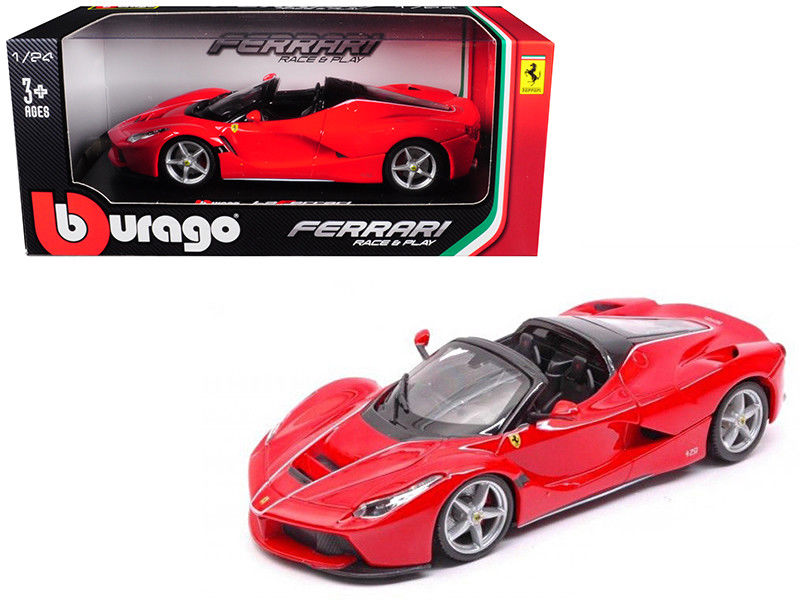 Ferrari LaFerrari F70 Aperta Red 1:24 Diecast Model Car - Bburago - 26022RD