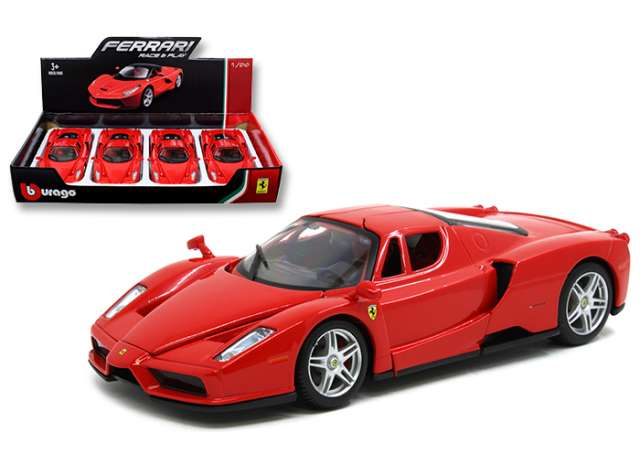 Ferrari Enzo Red 1:24 Diecast Model Car - Bburago - 26056