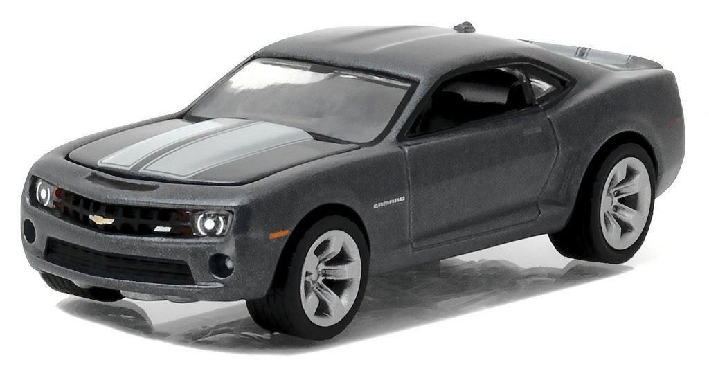 2012 Chevrolet Camaro SS Ashen Gray General Motors Collection Series 1 1:64 Diecast Model Car - Greenlight - 27870D