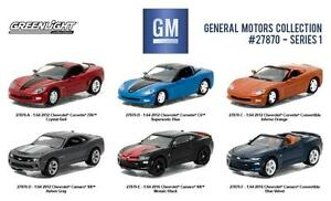 General Motors Collection Series 1, 6pc Set 1:64 Diecast Model Cars - Greenlight - 27870
