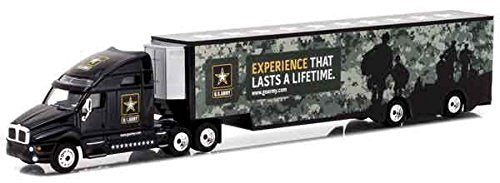 Kenworth T2000 United States Army Hauler 1:64 Diecast Model - Greenlight - 29882