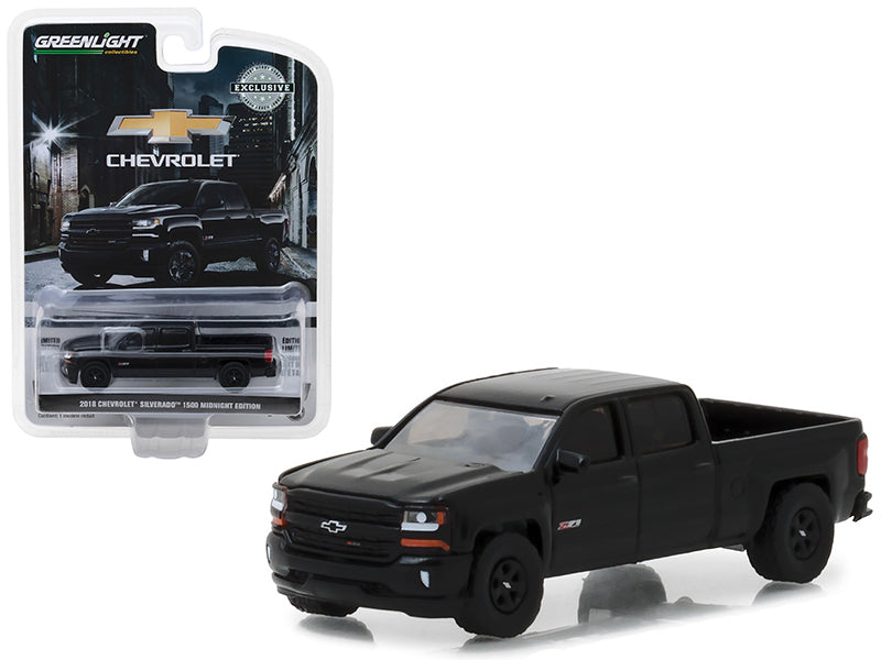 2018 Chevrolet Silverado 1500 Z71 Black Midnight Edition - Greenlight - 29941