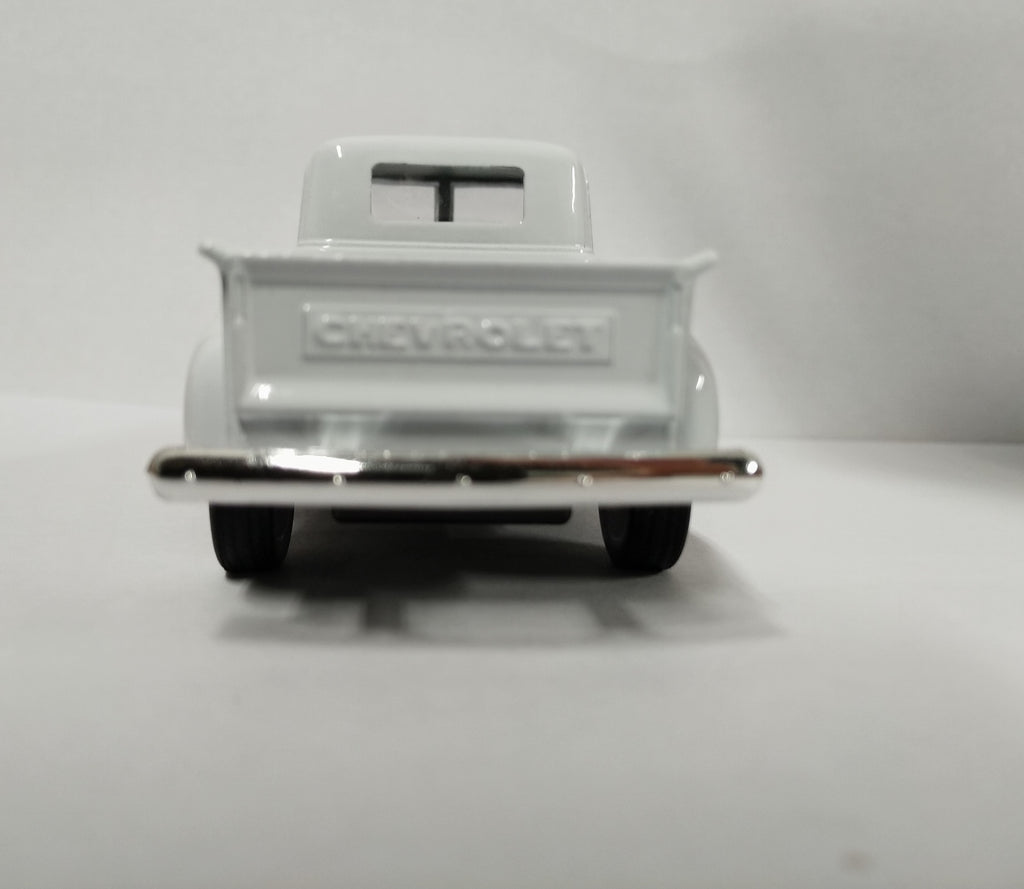 "1953 Chevrolet 3100 Pickup Truck White 5"" Diecast Model - Welly 43708WH"