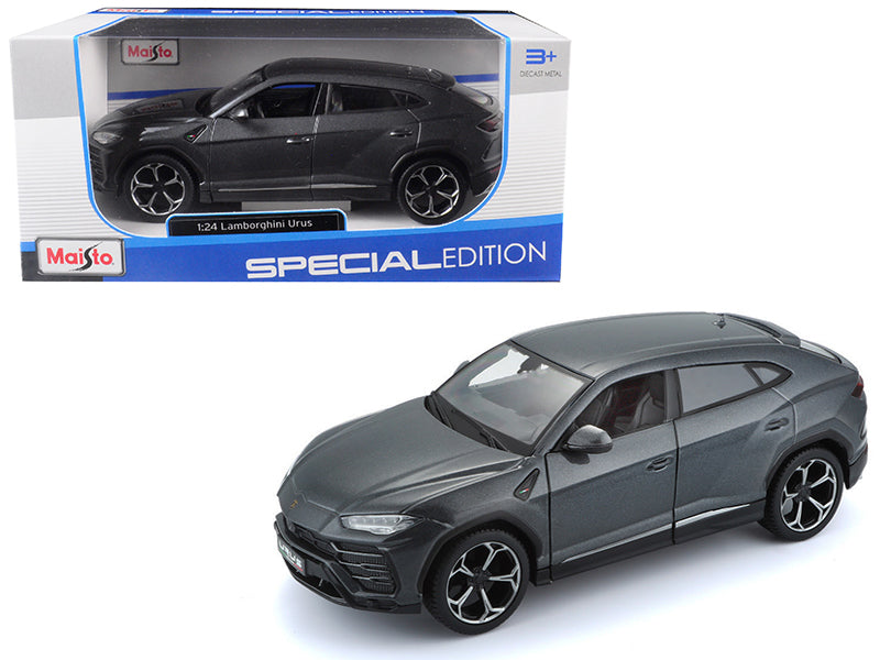 Lamborghini Urus Grey 1/24 Diecast Model Car - Maisto - 31519